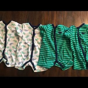 4 Little Me Whale Twin Boys 6 Month Romp